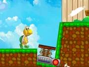 Play Koopa Troopa runs after Mario