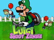 Play Luigi shoot zombies