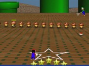 Play Mario Bros. 3D hockey