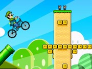 Play Mario Bros BMX challenge