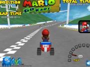 Play Mario Go Kart 3D