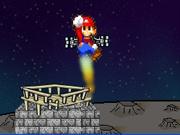 Play Mario Jetpack landing