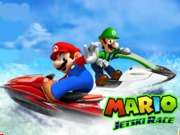 Play Mario jetski racing tournament