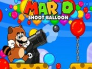 Play Mario shooting balloons