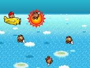Play Mario sky defender