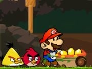 Play Mario vs Angry birds