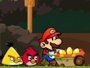 Play Mario vs Angry birds