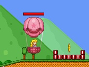 Play Princess Peach Balloon flight