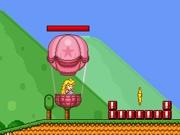 Play Princess Peach Balloon flight