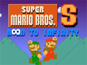 Play Super Mario Bros. Road to infinity