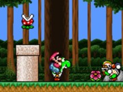 Play Super Mario Flash Jungle Edition