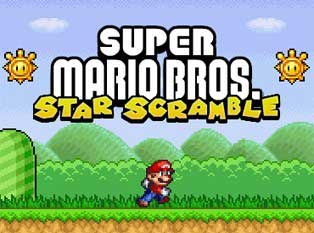 Play Super Mario Star Scramble 1