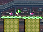 Play Yoshi running and jumping